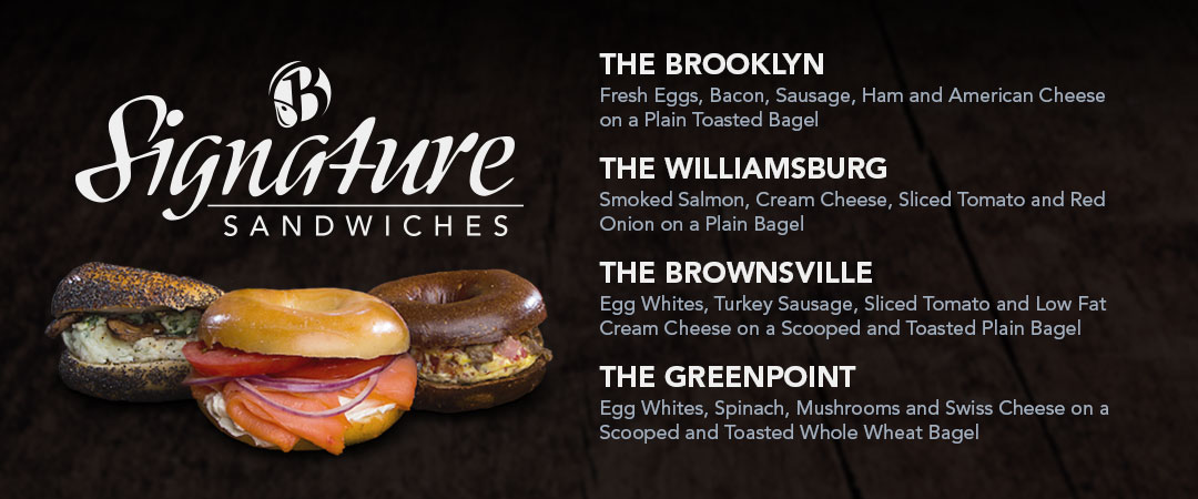 Signature Sandwiches